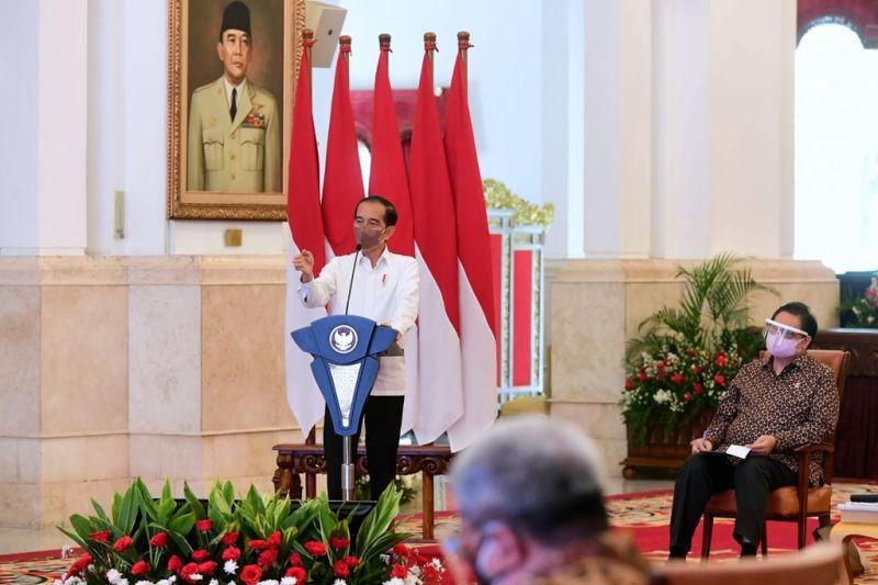 Presiden ingatkan jangan terlalu euforia sikapi perbaikan situasi pandemi