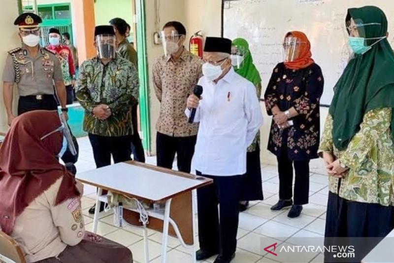 80 persen dari 3.222 sekolah di Bogor terapkan PTM