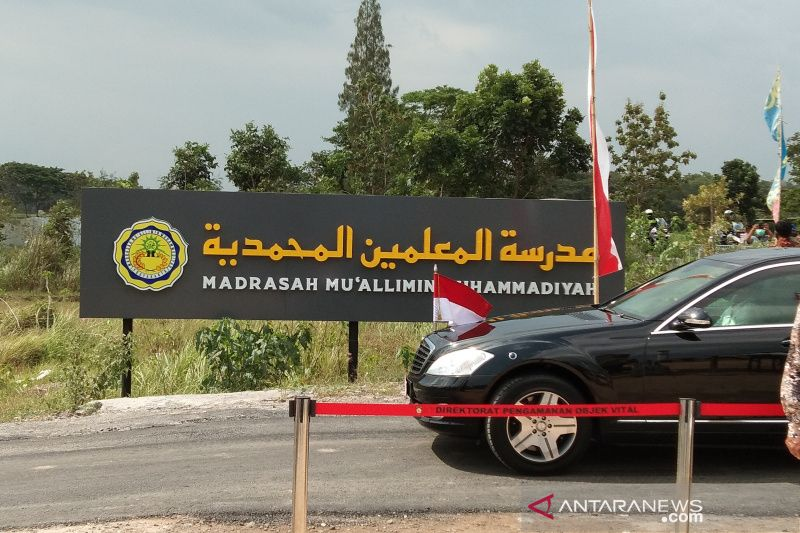 Presiden kunjungi Madrasah Muallimin Muhammadiyah yang dibangun pemerintah