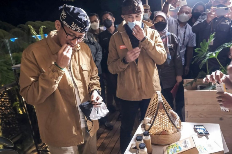 Menparekraf yakini kuliner di Bandung Barat berdaya saing internasional