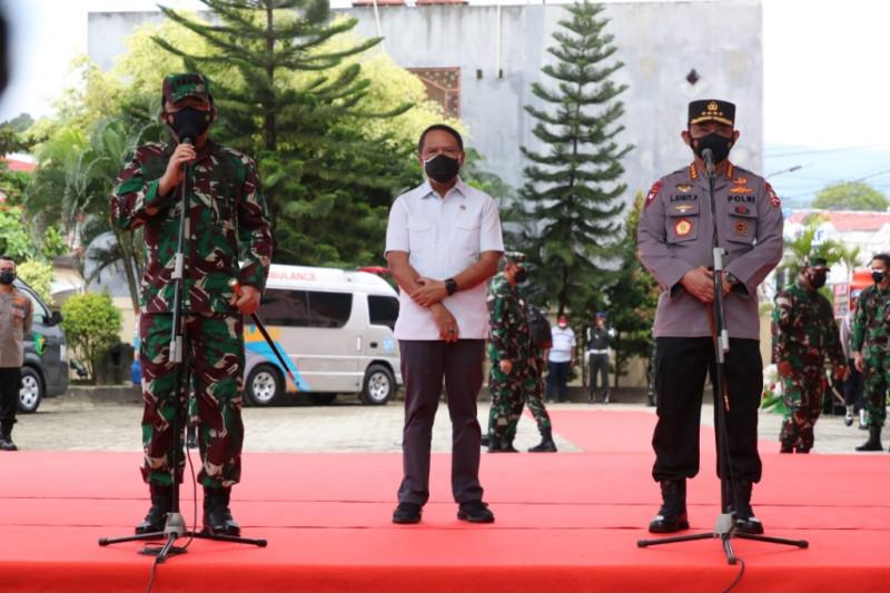 Berkontribusi majukan olahraga, Panglima TNI dan Kapolri dapat penghargaan