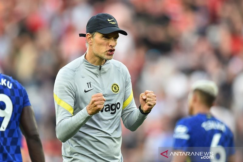 Thomas Tuchel senang dengan kemenangan Chelsea ketika hadapi Aston Villa