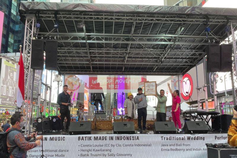 Kafe Dangdut diaspora Indonesia resmi dibuka di New York