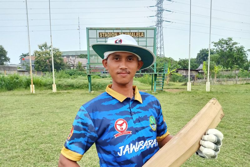 Penantian lima tahun Arif untuk wujudkan emas kriket bagi Jabar di PON Papua