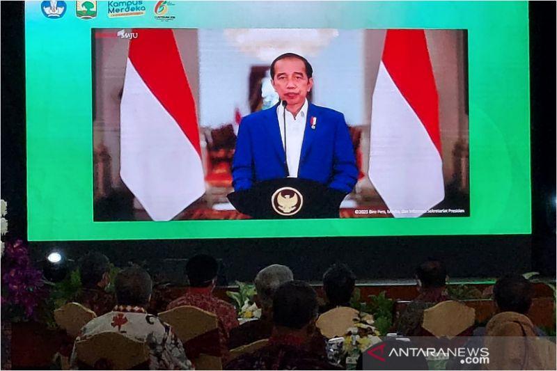 Presiden teken Perpres 82/2021 tentang dana abadi pesantren