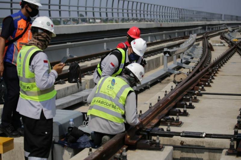 Len Industri kebut pengerjaan persinyalan kereta tanpa masinis LRT Jabodebek