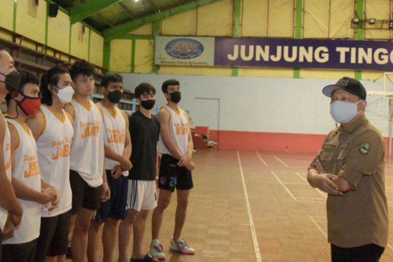 Komandan Kontingen Jabar beri motivasi atlet untuk juara umum PON XX