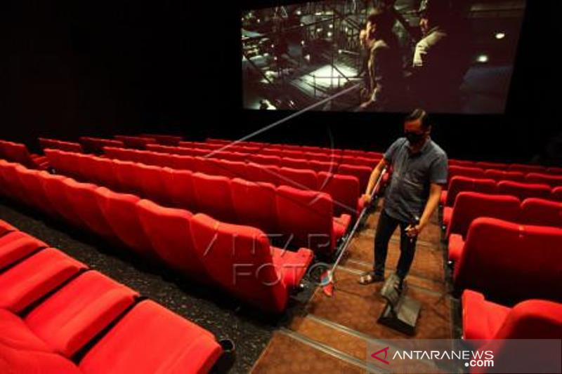 Persiapan Bioskop Buka kembali