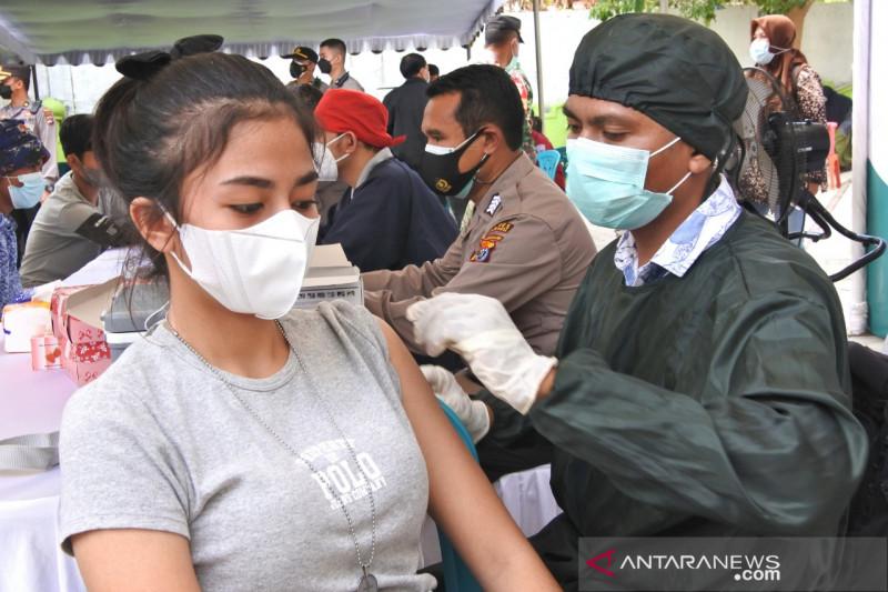 Sebanyak 118 juta vaksin COVID-19 telah disuntikkan