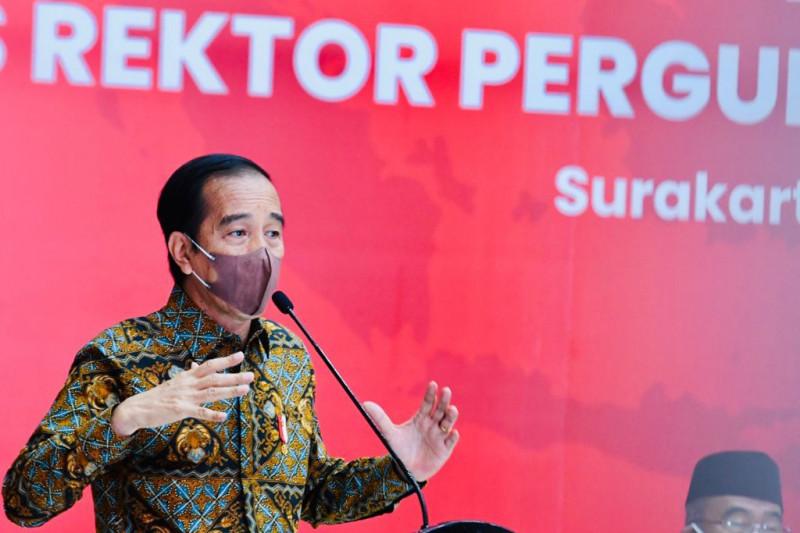 Presiden Jokowi: Perguruan tinggi dapat bawa adaptasi masuki transisi disrupsi
