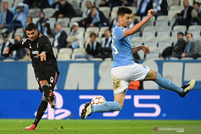 Juventus hancurkan Malmo 3-0, hapus awal buruk di domestik