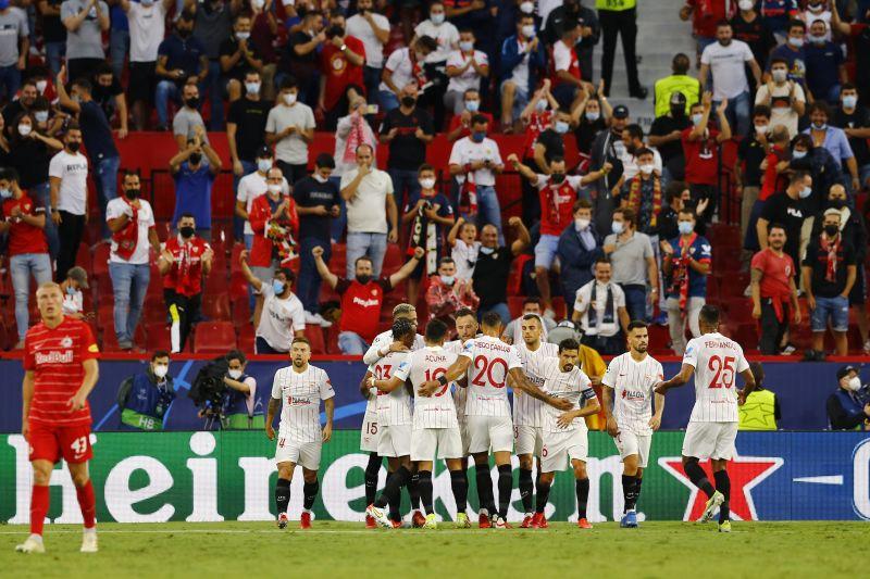 10 pemain Sevilla imbangi RB Salzburg