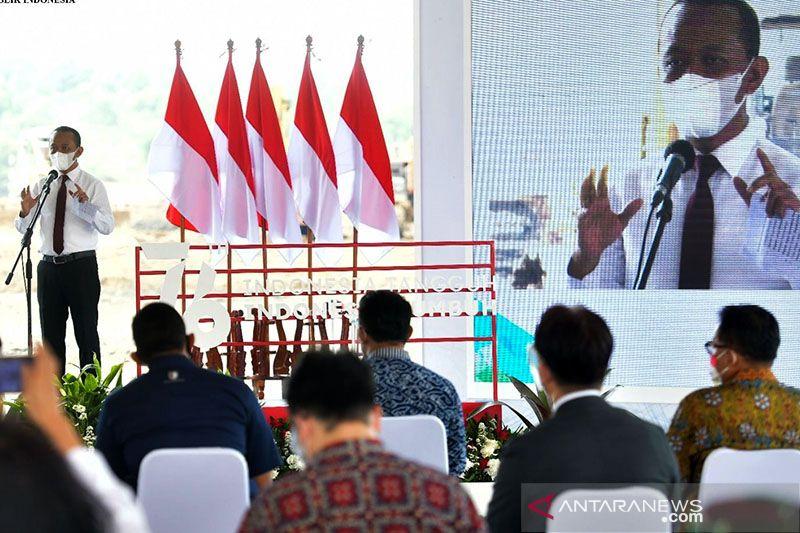 Bahlil pastikan pabrik baterai listrik di Karawang serap pekerja dalam negeri