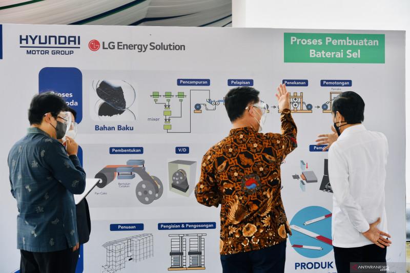 Pabrik baterai listrik di Karawang serap 1.100 tenaga kerja langsung