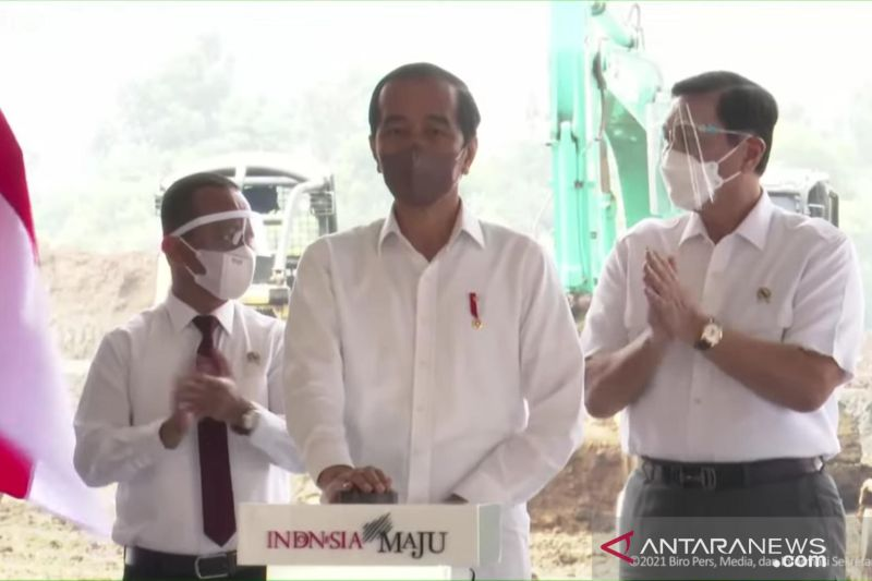 Presiden Jokowi ingin Indonesia keluar dari jebakan pengekspor bahan mentah