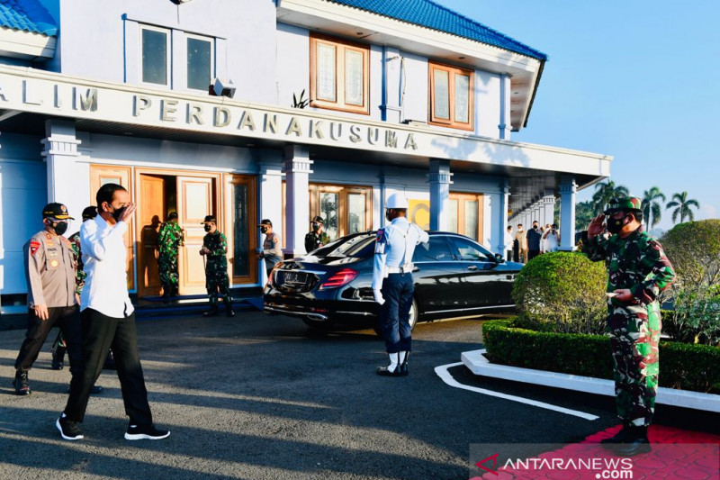 Presiden Jokowi akan tinjau vaksinasi COVID-19 di Aceh dan Sumut