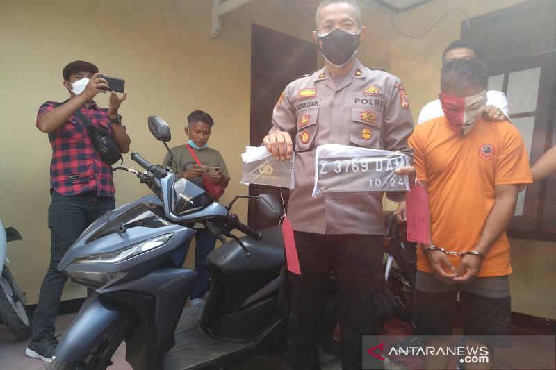 Polisi tangkap buruh tani di Garut yang curi motor untuk modal bertani