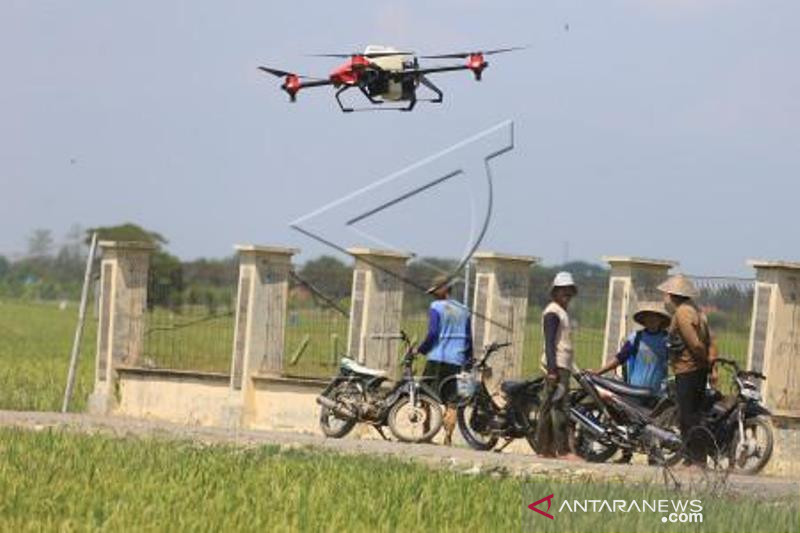 Uji Coba Drone Untuk Pertanian