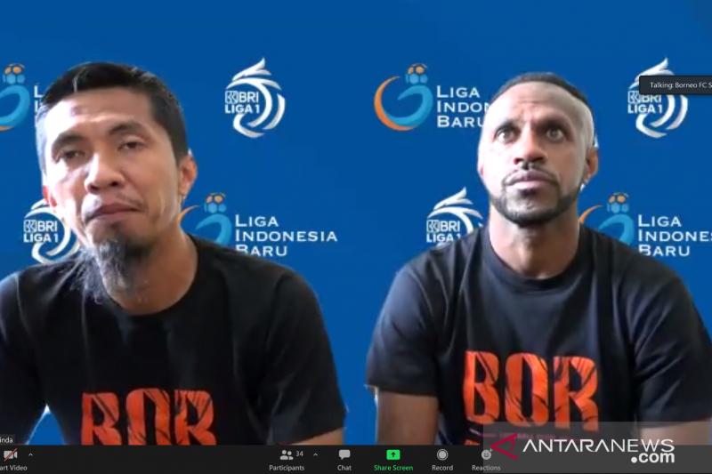 Borneo FC siap tunjukan kualitas saat hadapi Persib Bandung