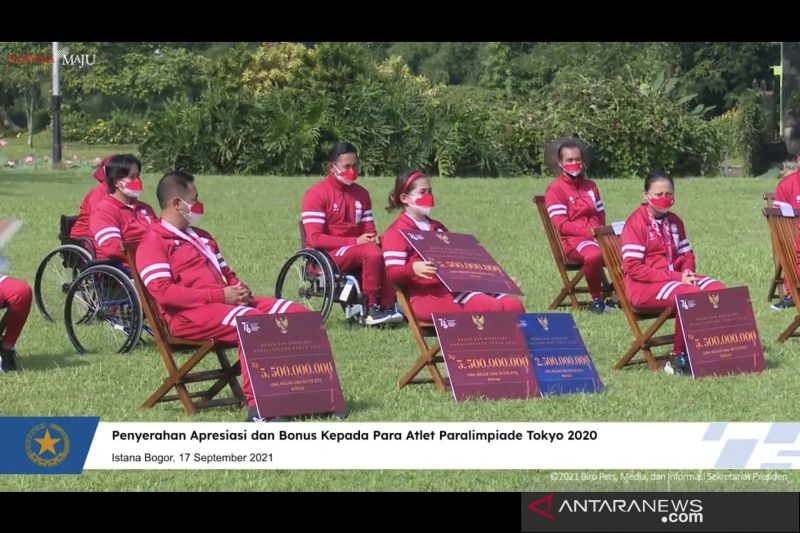 Leani Ratri Oktila terima bonus prestasi paralimpiade Rp13,5 miliar