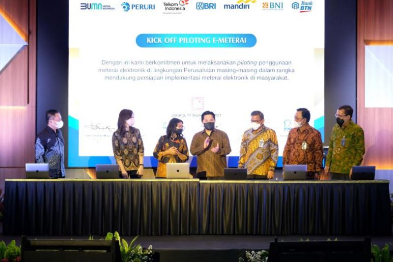 Peruri dan Telkom berkolaborasi implementasikan e-meterai