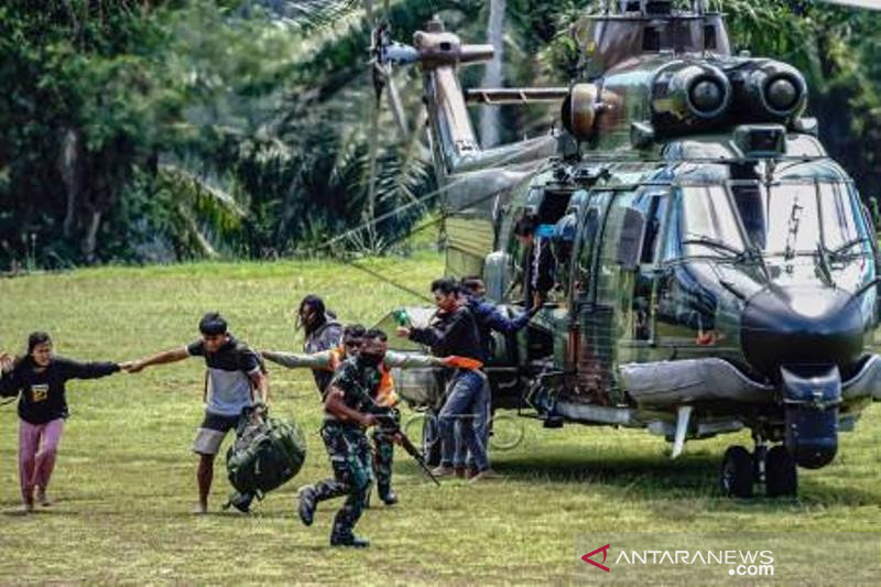 Evakuasi Korban Penyerangan KKB Di Pegunungan Bintang