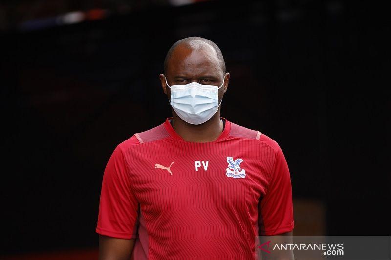 Patrick Vieira tegaskan Crystal Palace sambangi markas Liverpool tanpa rasa gentar