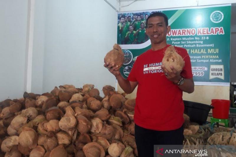 Bobby Nasution pilih tukang kelapa jadi Dirut Perumda Pasar Kota Medan