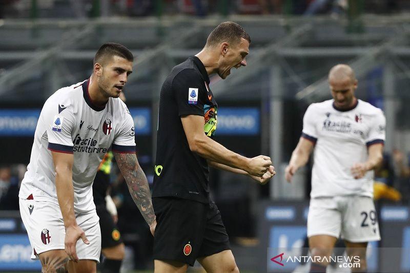 Inter Milan kembali ke jalur kemenangan dengan gulung Bologna 6-1