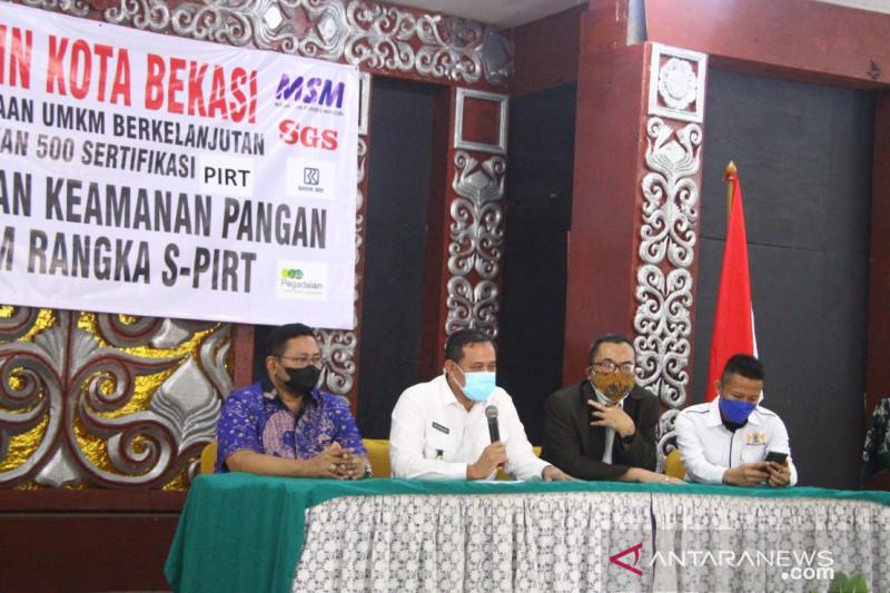 500 pelaku UMKM Kota Bekasi ikuti pelatihan produk