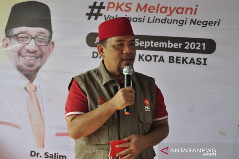 PKS Kota Bekasi gelar vaksinasi covid dorong percepatan kekebalan kelompok