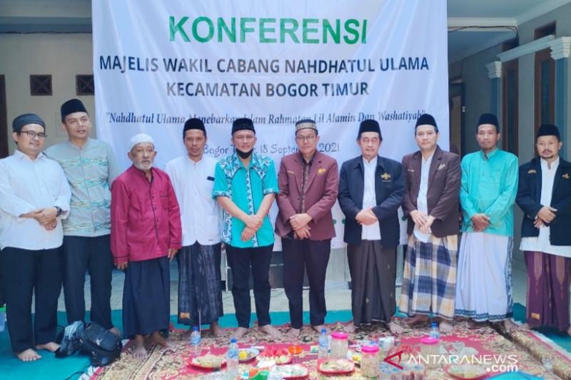 Konferensi MWC NU Kota Bogor digelar secara marathon