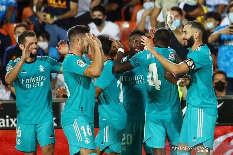 Real Madrid bangkit menang atas Valencia