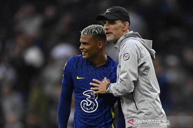 Thomas Tuchel puas pemain Chelsea jawab kekecewaan penampilan babak pertama