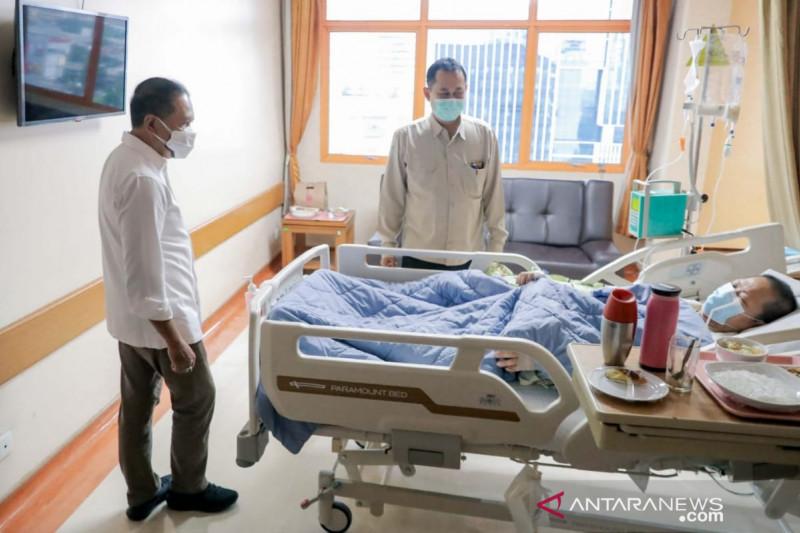 Presiden Jokowi beri bantuan kepada legenda bulu tangkis Verawaty Fajrin