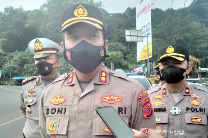 Sopir truk yang nabrak santri di Cianjur menyerahkan diri