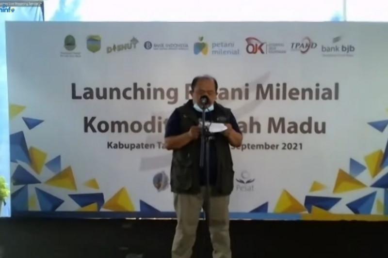 Gubernur Jawa Barat genjot kuantitas petani milenial