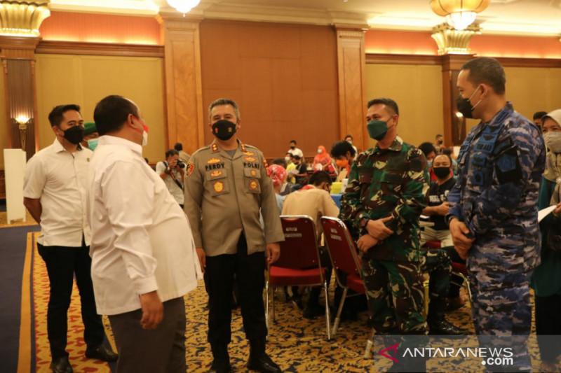 Alumni Akabri 1998 gelar vaksinasi massal COVID-19 di Kota Bogor