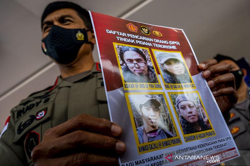 Polisi Rilis Kembali Sisa DPO Teroris Poso