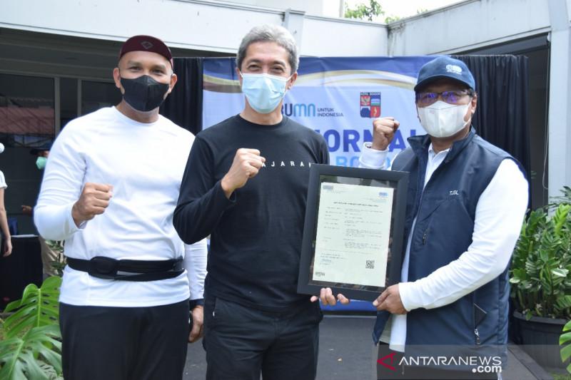 BUMN berikan sertifikat CHSE pada dua BUMD Kota Bogor