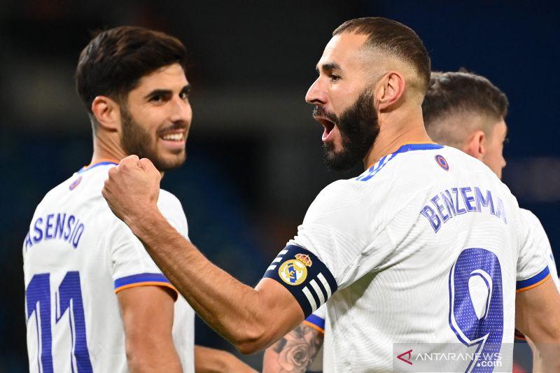 Real Madrid bantai Real Mallorca 6-1