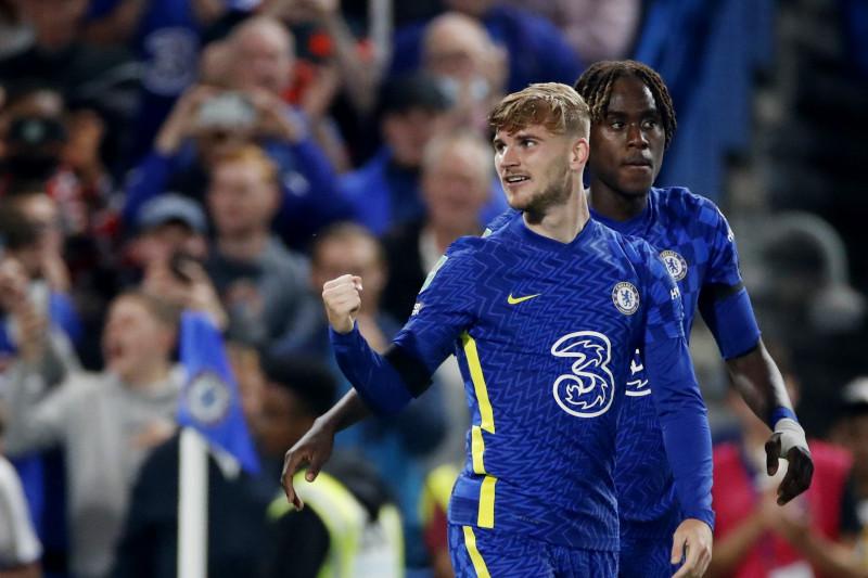 Timo Werner senang bisa mencetak gol lagi untuk Chelsea