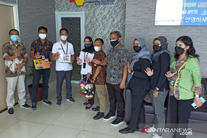 KPU RI kunjungi LPSE Bekasi gali informasi layanan pengadaan