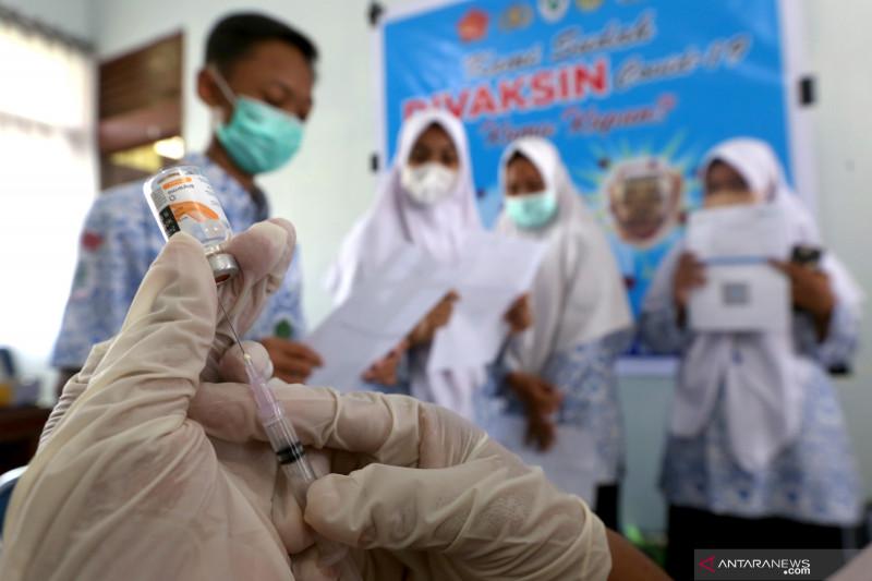 Penerima dosis lengkap vaksin COVID-19 di RI mencapai 46,98 juta orang