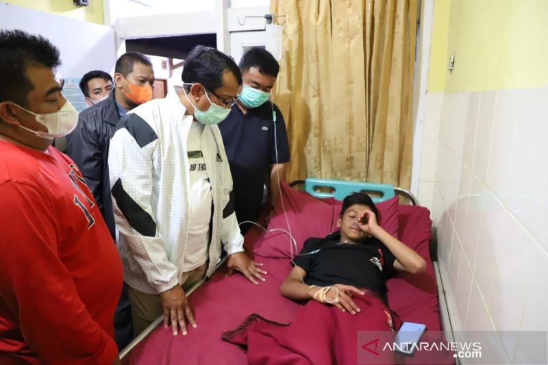 Pendaki yang ditemukan di Gunung Guntur dirawat medis karena alami dehidrasi