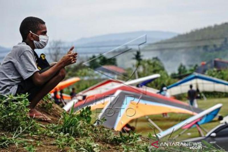 Pertandingan Gantole PON Papua