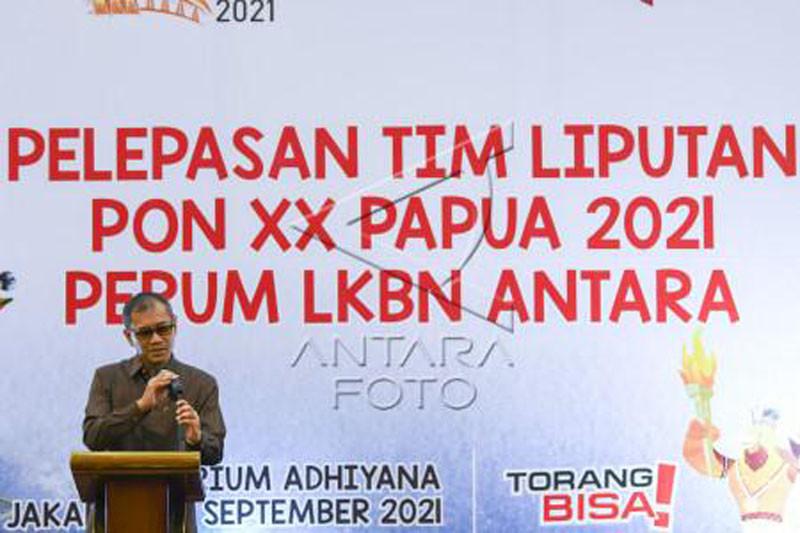 Perum LKBN ANTARA berangkatkan tim peliputan PON XX PAPUA