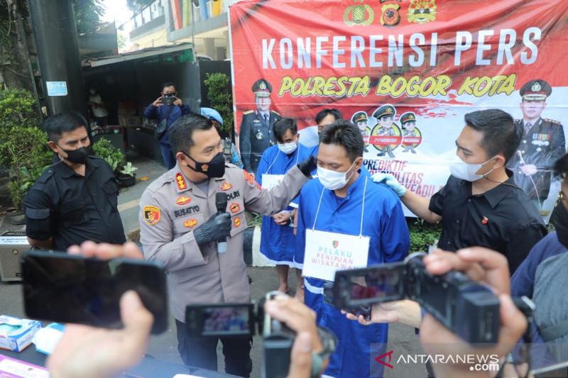 Komplotan penipu berkedok wisatawan asing ditangkap Polresta Bogor Kota