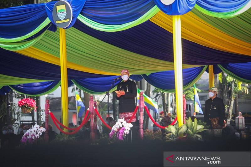 Peringati Hari Jadi Kota Bandung, Wali Kota  ajak warga tuntaskan pandemi