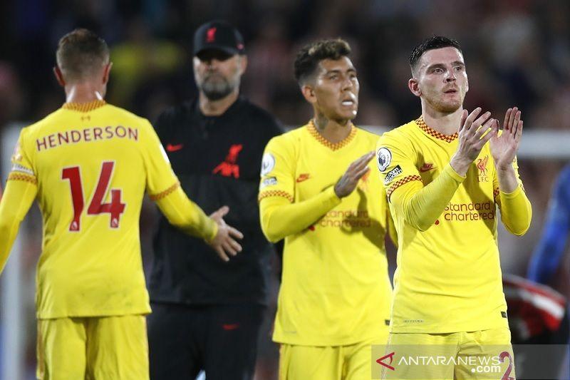 Hasil pertandingan pekan keenam Liga Inggris, Liverpool satu-satunya nirkalah